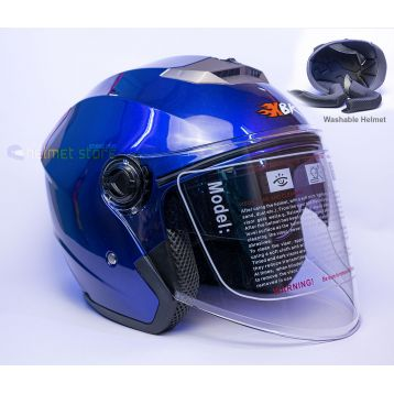 Helmet XBK Blue Double Glass 603