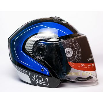 Helmet VX No. 1 Blue Graphics