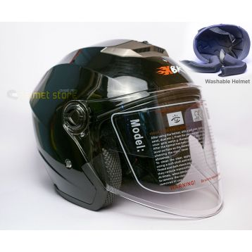 Helmet XBK Black Double Glass 603