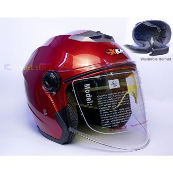 Helmet XBK Red Double Glass 603